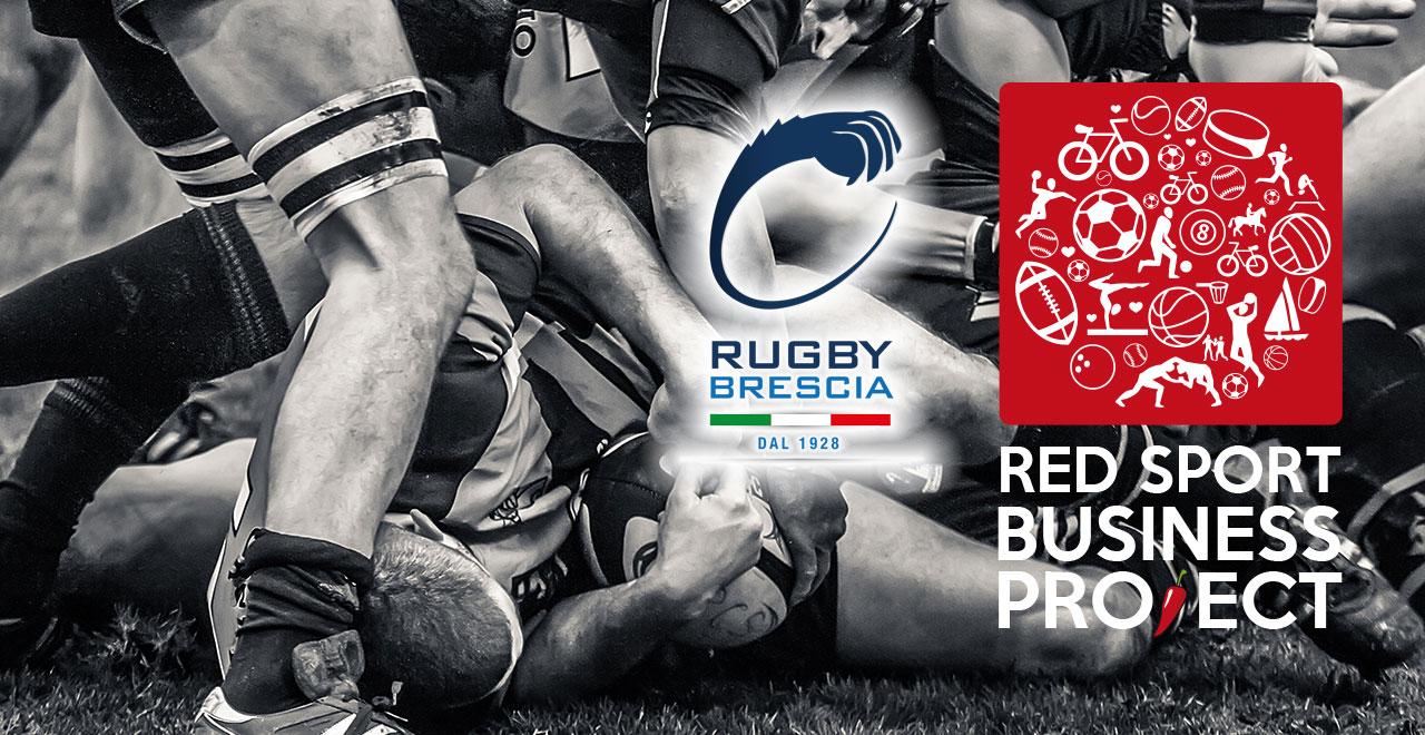 Rugby Brescia e Millenium Volley Brescia aderiscono al Red Sport Business Project